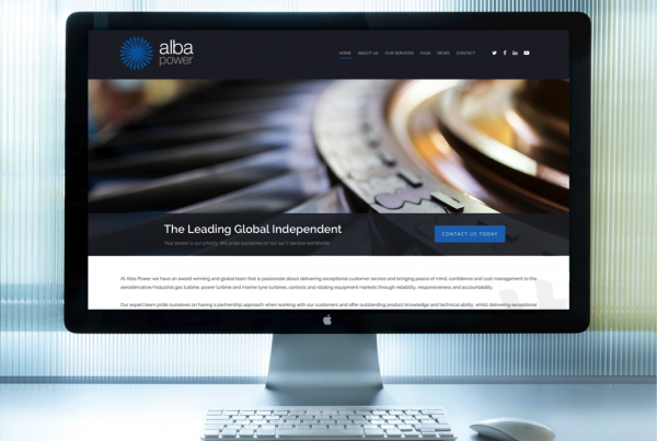 Alba Power Web Site Launch Avon Marine Tyne RB211 Gas Turbines Power Turbines Servicing