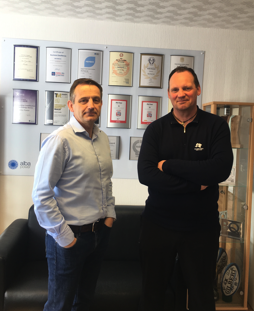 Alba Power appoint Dave Thurley and Derek Daniels to further grow their senior management team