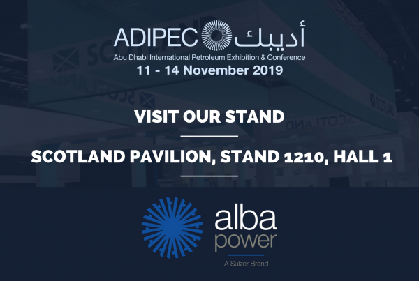 AlbaPower attending ADIPEC 2019